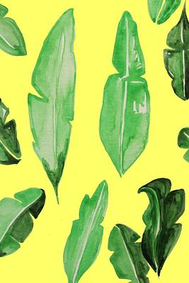 Leaf Painting - Leaves by Cortney Herron