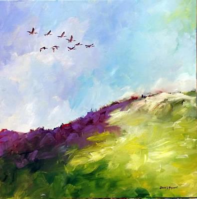 Painting - Leaving Early by David  Maynard