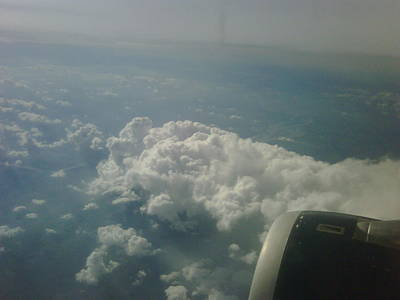 Airscape Photograph - Leaving Mississippi by Shannon Redwine