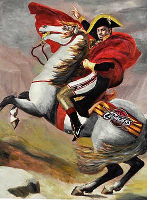 Lebron James Ride To Victory Original by Robert Barlow