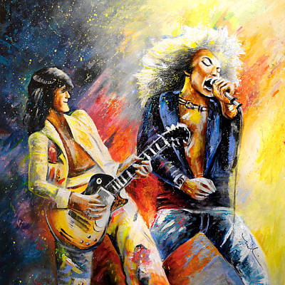 Led Zeppelin Passion Original by Miki De Goodaboom