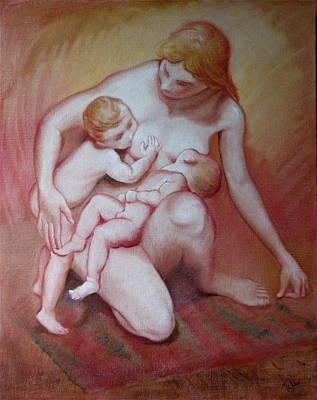 Leda Original by Isabel Mahe