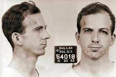 Jail Painting - Lee Harvey Oswald Mug Shot Nov 22 1963 Horizontal  by Tony Rubino
