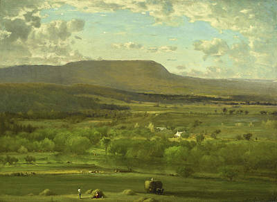 Painting - Leeds. New York by George Inness