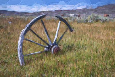 Rustic Digital Art Digital Art - Left Behind II by Jon Glaser