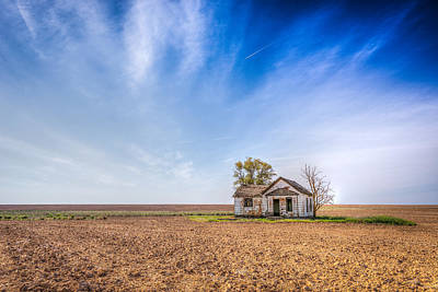 Abandoned House Photograph - Left Behind by Spencer McDonald