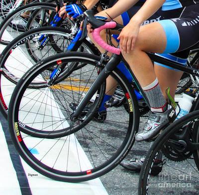 Sports Photograph - Leg Sweat  by Steven  Digman
