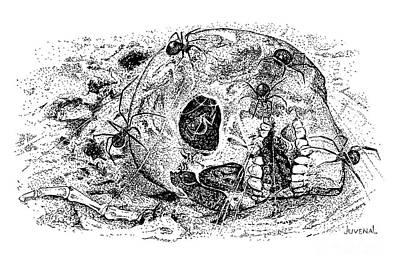Legacy Of The Artist Print by Joseph Juvenal