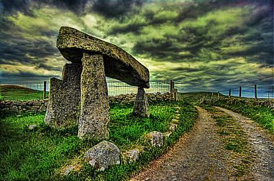 Legananny Dolmen Print by Kim Shatwell-Irishphotographer
