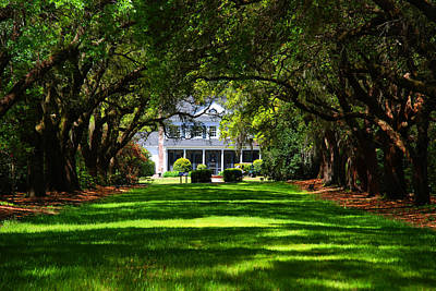 Plantation Photograph - Legare Waring House Charleston Sc by Susanne Van Hulst