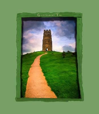 Gothic Photograph - Legends Of Arthur - Glastonbury Tor by Mark E Tisdale
