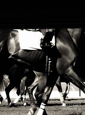 Racetrack Digital Art - Legs by Heather Joyce Morrill