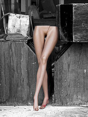 Legs Print by Robert Sako