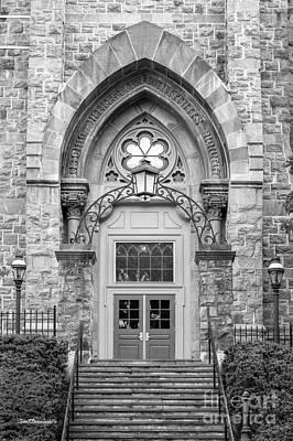 Lehigh University Center Doorway Print by University Icons