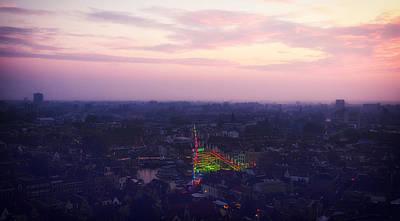 Roller Coaster Photograph - Leiden At Dusk by Mountain Dreams