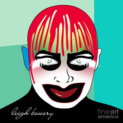 Shirt Digital Art - Leigh Bowery by Mark Ashkenazi