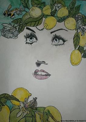 Lemon Color Original by Anne Bazabidila