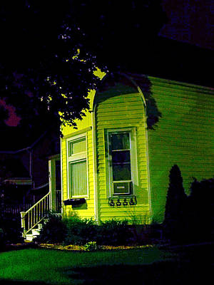 Photograph - Lemon-drop House by Guy Ricketts