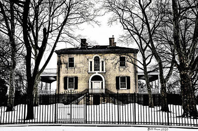 Lemon Hill Mansion - Philadelphia Print by Bill Cannon