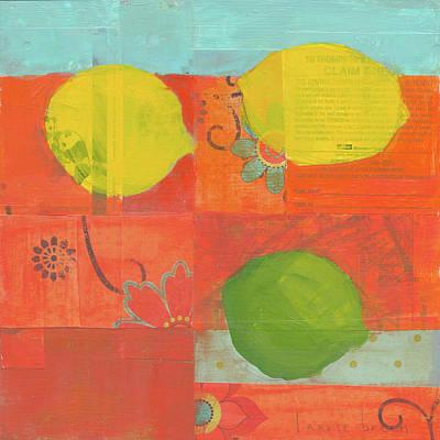 Lemon Painting - Lemon-lime by Laurie Breen