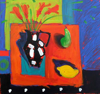 Pears Painting - Lemon by Paul Powis