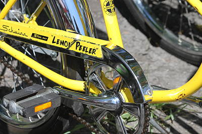 Lemon Peeler Print by Lauri Novak