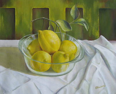 Lemons Original by Elena Oleniuc