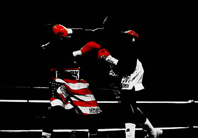 Lennox Lewis Print by Brian Reaves