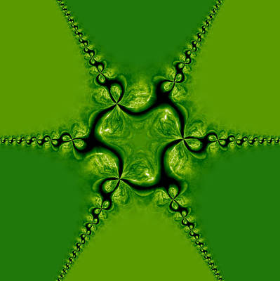 Tessellation Photograph - Leprechaun Paradise by Edan Chapman