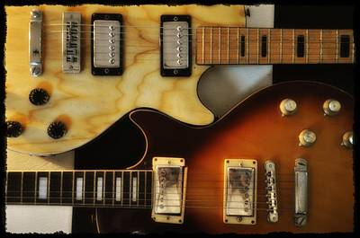 Les Paul - Come Together Print by Bill Cannon