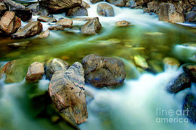 Fall Of River Photograph - Let It Flow by Az Jackson