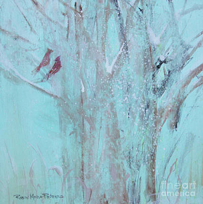 Painting - Let It Snow by Robin Maria Pedrero