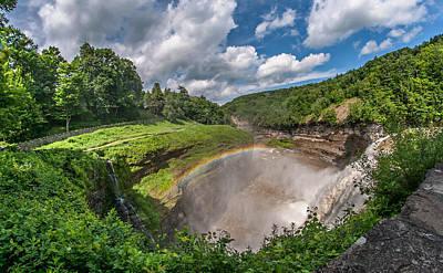 Finger Lakes Photograph - Letchworth State Park Gorge by Steve Harrington