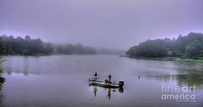 Gone Fishing Photograph - Lets Go Fishing Lake Oconee Fishing Art by Reid Callaway