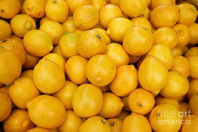 Poster Photograph - Let's Make Lemonade  by Eyzen Medina