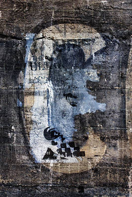 Old Age Digital Art - Letter C Found On Walls by Carol Leigh