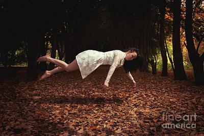Floating Girl Photograph - Levitate by Amanda Elwell