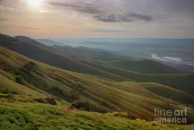 Lewis Clark Valley Print by Idaho Scenic Images Linda Lantzy