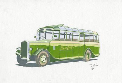 Normal Painting - Leyland Tigress by John Kinsley