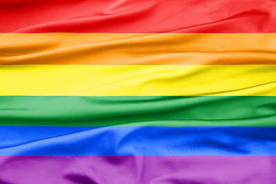 Bisexual Photograph - Lgbt Rainbow Flag by Semmick Photo