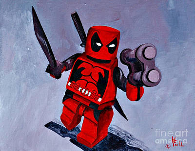 Lgeo Deadpool Original by Herschel Fall