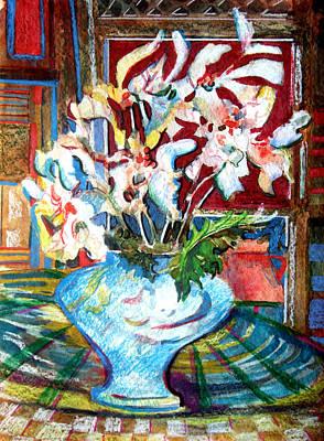 Liberating White Original by Mindy Newman