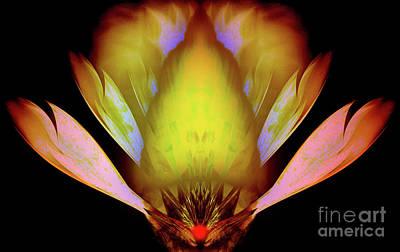 Inner Self Digital Art - Liberation by Rajendra Mongia