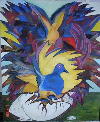 Painting - Liberdade  -  Liberty by Shanta Rathie