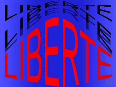 Liberte Print by Helmut Rottler