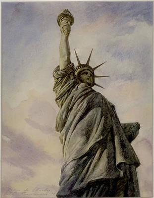 Liberte Print by Vladimir Rumianzev