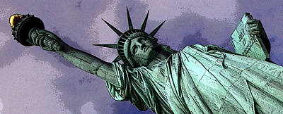 Liberty 3 Print by William  Todd
