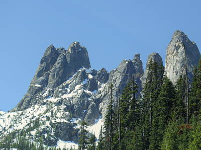 Liberty Bell Mountain Print by Dan Sproul
