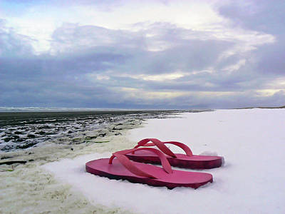 Contradiction Photograph - Life Can Be A Beach  by Pamela Patch
