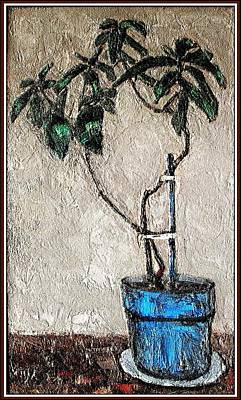 Pemaro Painting - Life In A Pot 1 by Pemaro